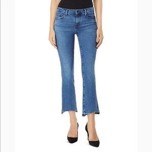 👖 J Brand frayed hem cropped jeans